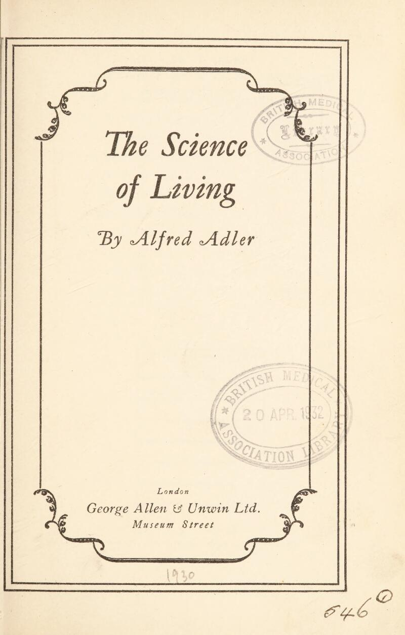 of Living TZy ^Alfred tidier
