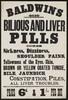 Baldwin's Bilious and Liver Pills :