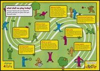 view What shall we play today? : put your hand up for your favourite activity and play the game that gets the most votes ... : teacher wallchart / Change 4 Life.