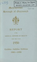 view [Report of the Medical Officer of Health for Greenwich Borough.