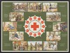 Activities of the Netherlands Red Cross that can be supplied with the aid of donations of various amounts. Colour lithograph by Derf, 194- (?).