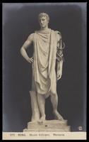 view Mercury. Photographic postcard, 191-.