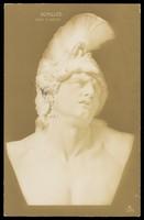 view Achilles. Photographic postcard, 190-.