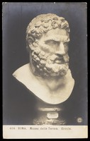 view Hercules. Photographic postcard, 191-.