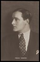 view Frank Vosper. Photographic postcard, 1927.