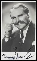 view Jimmy Edwards. Photographic postcard, 195-.