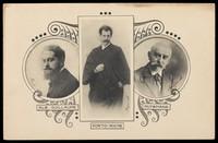 view Albert Guillaume, Georges de Porto-Riche, and Joris-Karl Huysmans. Process print, 19--.