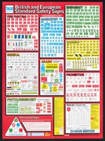 view British and European standard safety signs ... : identification systems