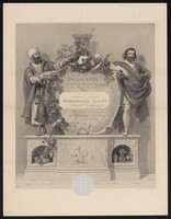 view This is to certify that ... of ... has been duly elected an honorary member of the Pharmaceutical Society of Great Britain : incorporated by royal charter A.D. 1843, charter confirmed by Parliament 1852.