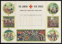 view The Junior Red Cross ; improvement of health, prevention of disease, mitigation of suffering.