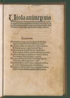 view Viola animae, sive De natura hominis