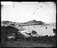 view Praia Grande, Macao, China. Photograph by John Thomson, 1870.