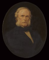 view Joseph Lister, 1st Baron Lister. Oil painting.