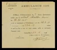 view Ambulance 10/6.