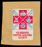 view Ex-Services Mental Welfare Society [sticker].