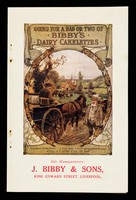 view Going for a bag or two of Bibby's Dairy Cakelettes / sole manufacturers: J. Bibby & Sons.