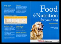 view Food & nutrition for your dog : a fresh look at Tesco's complete range of dog food