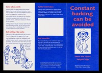 view Constant barking can be avoided : here are some helpful tips