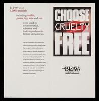 view Choose cruelty free / BUAV.