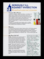 view Seriously Ill Against Vivisection : we need real science not vivisection.