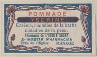 view Pommade Ysérine. Colour lithograph.