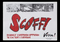 view SCOFF! : Schools' campaign opposed to factory farming