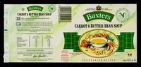 view Carrot & butter bean soup