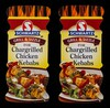 Schwartz grill & sizzle for chargrilled chicken kebabs