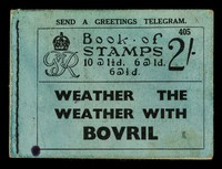 view Book of stamps... : Weather the weather with Bovril.