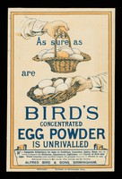 view As sure as [eggs] are [eggs,] Bird's concentrated egg powder is unrivalled