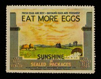 view Fresh eggs are the best : Britain's eggs are freshest : eat more eggs : sunshine in sealed packages