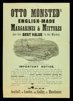 view Otto Mönsted's English-made margarines & mixtures are the best value in the market.