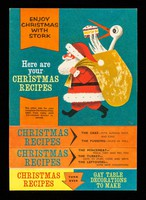 view Enjoy Christmas with Stork : here is your plan for preparations starting from now : see other side for recipes and ideas for decorations and gift wrappings.