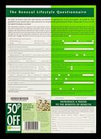 view The Benecol lifestyle questionnaire / McNeil Consumer Nutritionals UK Ltd.