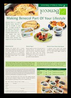 view Benecol : proven to reduce cholesterol / McNeil Consumer Nutritionals UK. Ltd.