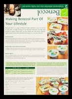 """view Benecol : """"Cholesterol reduction you can really count on"""" / McNeil Consumer Nutritionals UK. Ltd."""