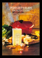 view Swedish liquid margarine : a healthy cooking margarine in a new container / Winner.