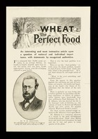 view Wheat : the perfect food / The Natural Food Co., Ltd.