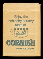 view Enjoy the rich dairy-country taste of... Walls' Cornish dairy ice cream.