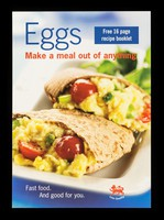 view Eggs make a meal out of anything : Fast food. And good for you : veggy egg pittas