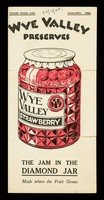 view Wye Valley preserves : trade price list : January, 1929 / Herefordshire Fruit Co. Ltd.