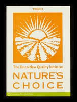 view The Tesco new quality initiative, nature's choice