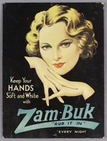 """view Keep your hands soft and white with Zam-Buk : """"rub it in"""" every night."""