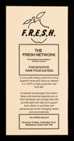 view The FRESH Network : Fruitarian & Raw Energy Support & Help : for intuitive raw food eating