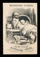 view Headache cured : Dr. Mettaur's headache pills : a certain relief / Brown Chemical Company.