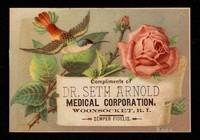 view Compliments of Dr. Seth Arnold Medical Corporation, Woonsocket, R.I. : semper fidelis / Dr. Seth Arnold Medical Co.
