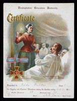 view Certificate : Royal Red Cross... / Denbighshire Education Authority.