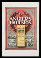 view Angier's Emulsion heals the lungs, helps digestion / Angier Chemical Co. Ltd.