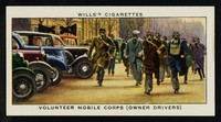 view Volunteer mobile corps (owner drivers) / W.D. & H.O. Wills.