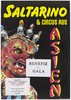 A red and gold decorated head with an open mouth adorned with skeletons wearing crowns representing an advertisement for Saltarino, an asian circus AIDS gala in support of children and families affected by AIDS and HIV; organised by the AIDS-Forum e.V. Colour lithograph.